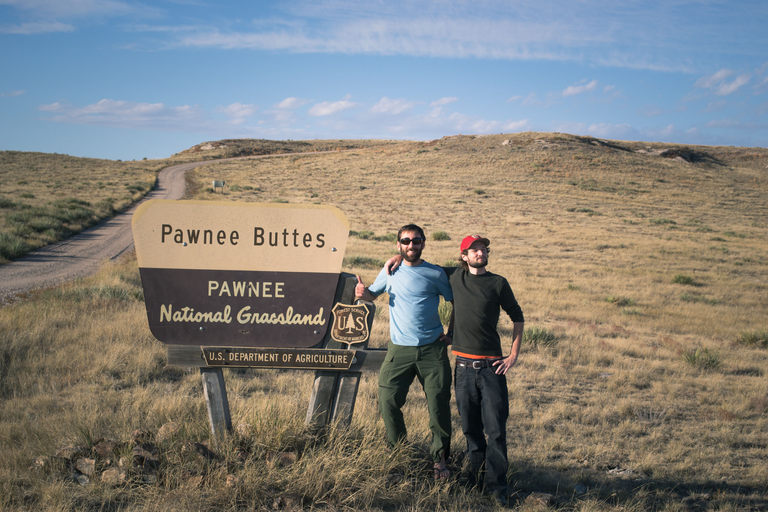 Thumbs up for The Pawnee Buttes.
