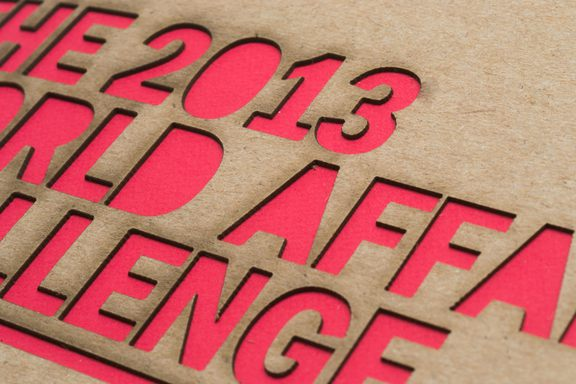 Another closeup of the laser-cut type